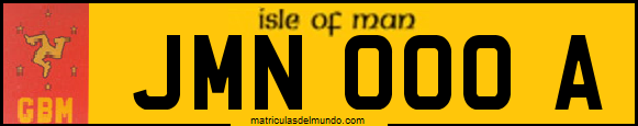 Genera y crea tu propia matricula de la Isla de Man en exclusiva y con mucha personalización/ Generate and create your own Isle of Man license plate for free