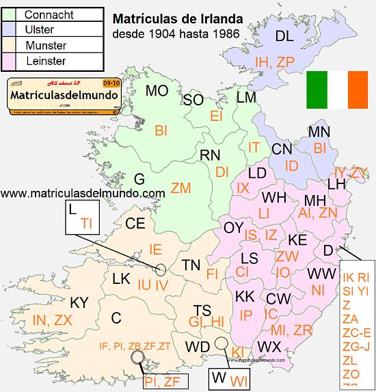 Matrculas de Irlanda