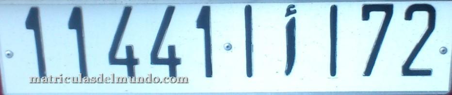 matricula marruecos 72